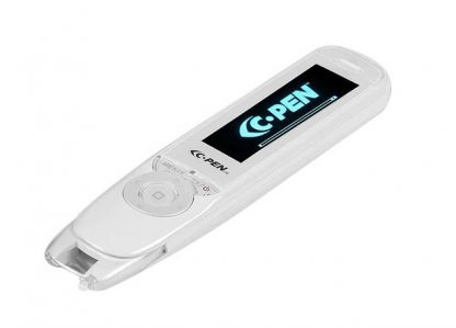 The C-Pen Reader pen scanner is a portable device that helps individuals wanting to learn English as well as those with learning disabilities such as dyslexia.