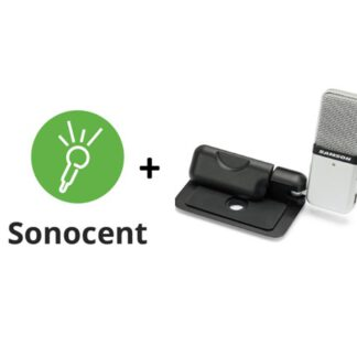 Sonocent Audio Notetaker and Samson Go MIc bundle